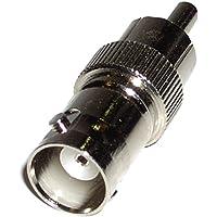BeMatik - Adaptador Coaxial (BNC/RG59-H a RCA-M)