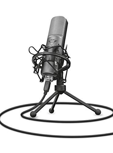 Trust GXT 242 Lance Streaming Mikrofon schwarz