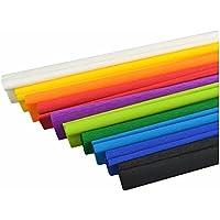 Fein crepé 50x 200cm 10rollos surtidos Multicolor