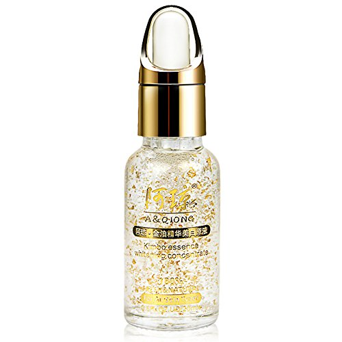 24K Gold Foil Estract Essence Skin Moisturizing and Tightening Hyaluronic Acid Essence 20ml