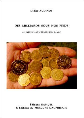 Des milliards sous nos pieds. La chasse aux trésors en France par Didier Audinot