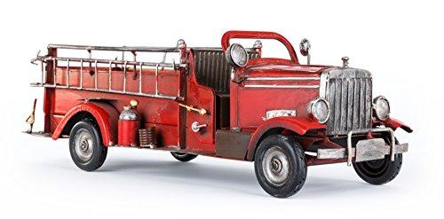 Solinga Deko Flaschenhalter Feuerwehrauto Geschenke für Feuerwehrmann und Feuerwehrfrau Geschenk...
