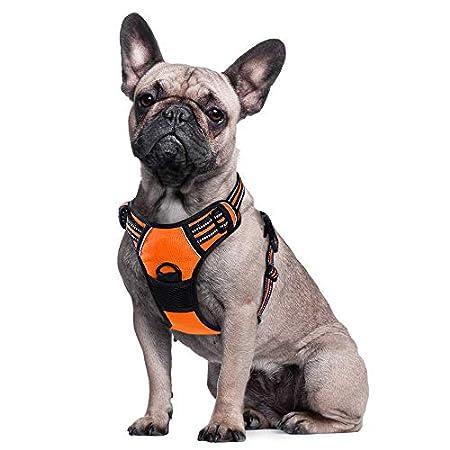 Eagloo Hundegeschirr für Große Hunde Anti Zug Geschirr No Pull Sicherheitsgeschirr Kleine Mittlere Hunde Brustgeschirr…