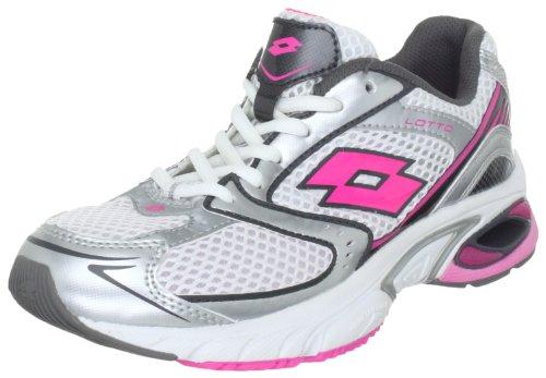 Lotto, Rearch Gemini W, Scarpe sportive, Donna, Bianco sporco (Wht/Pink Shock), 40