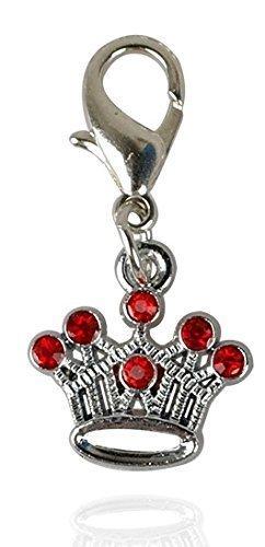 funkelig-diamant-rot-oder-pink-edelstahl-crown-form-hund-katze-haustier-anhnger-anhnger-rot-diamant