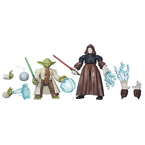 Star Wars Hero Mashers Yoda Vs. Imperatore Palpatine