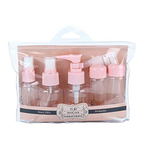 Travel Empty Cosmetic Bottle Set Portable Botella