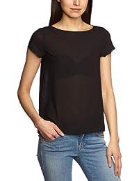 Freesoul Women Shirt-blouse Asymmetric 1/2 Sleeve Shirt