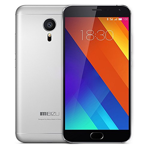 Meizu MX5 4G Smartphone 5.5 Zoll AMOLED 64bit Helio X10 Turbo Octa Core 3GB RAM 16GB ROM 5MP 20.7MP Doppelkameras mCharge mTouch 2.0 Screen Flyme 4.5 OS
