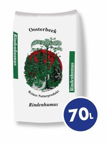 Oosterbeek Rindenhumus 0-18 mm 70 l - Mulchprodukt zur dekorativen Gartengestaltung-70 Liter Sack