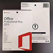 OFFICE 2019 Professional 32/64 Bit For 1 USER, Multi language, Download, Retail, Region free, Upgradable