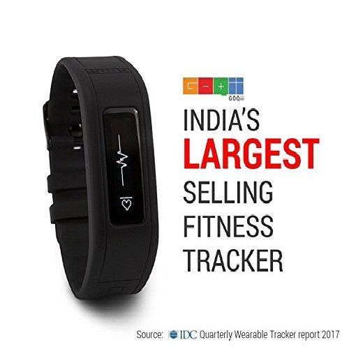GOQii Heart Care Tracker with 3 Months Personal Coaching (Black)