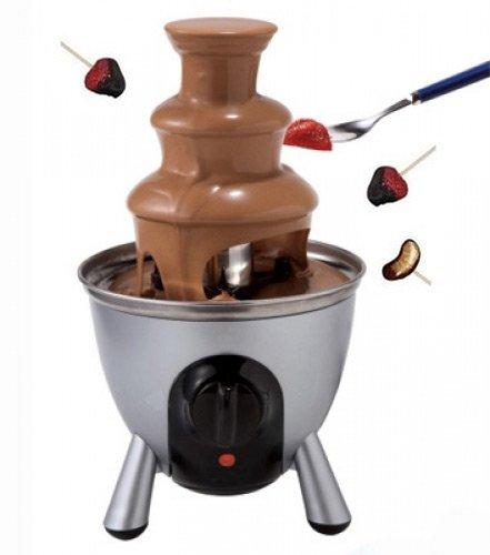 Fuente de chocolate - Convivial y Práctico - Color Gris PLata