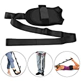 Knöchel Stretch Band & Yoga Stretching Gürtel, Fuß Orthesen Assist Fuß Drop Fascitis Plantar Knöchelorthese, Fitness Strap Leg Unterstützung für Dance Gym Zugentlastung Schmerzen des Fußes