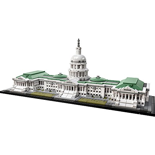 LEGO Architecture 21030 United States Capitol Building Kit (1032 Piece) by LEGO (Building Us Capitol)