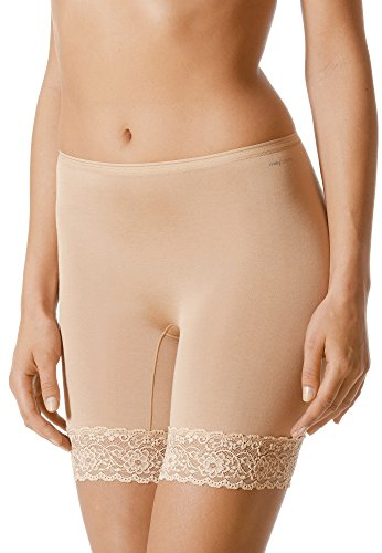 Mey Basics Lights Damen Leggings 88210- Gr. 40, Soft Skin - Spitze Kurze Panty