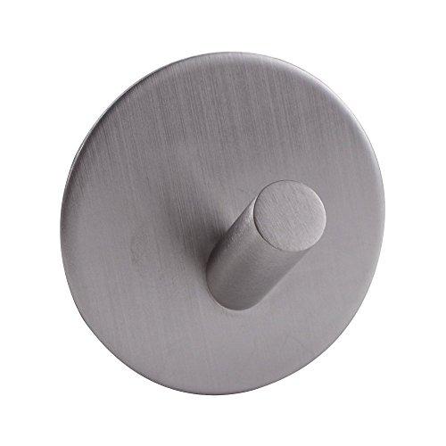 KES SUS 304 Edelstahl 3M Klebstoff Hakens Schlüssel Rack Garage Lagerung Veranstalter Kleben Sie auf Klebrige Bad Küche Handtuch Hanger Wundhalterung Zeitgenössischen Stil, Gebürstet, A7066 (Ring-stil-handtasche)