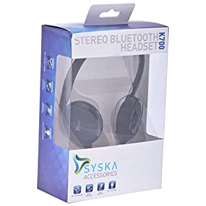 Syska K-700 Stereo Bluetooth Headset (Black)