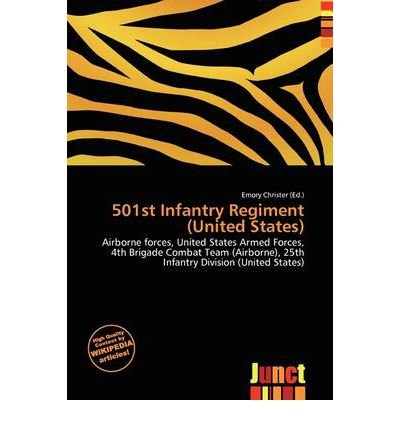 [ [ 501ST INFANTRY REGIMENT (UNITED STATES) BY(CHRISTER, EMORY )](AUTHOR)[PAPERBACK]