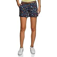 d8a01422d7 oodji Ultra Mujer Pantalón Corto de Algodón con Cinturón