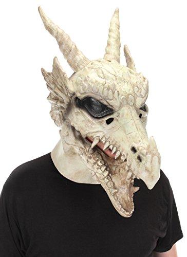 Einfach Bärtigen Kostüm - Elope Drache Kostüm Totenkopf Fantasy Mund Mover