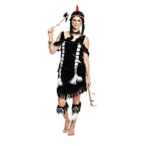 Kostumplanet Indianerin Kostum Damen Indianer Kostum Wilder Westen