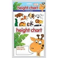 KIDS ALPHABET HEIGHT CHART ALPHABET & ARROW STICKERS