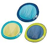 SwimWays - 6045229 - Spring Float Papasan - Siège Gonflable de Piscine Semi Immergé en Tissu - Couleur Aléatoire