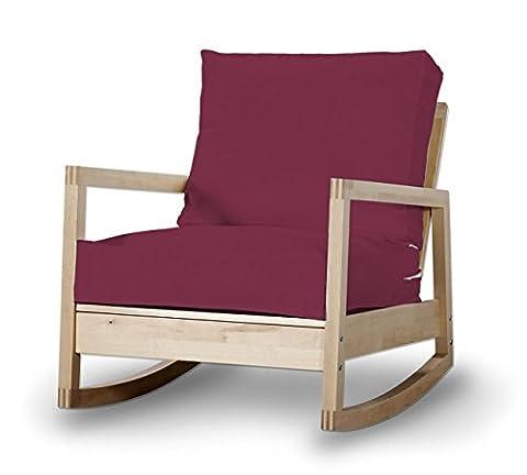 Housse Fauteuil Prune - Dekoria Fire Retardant IKEA lillberg Housse de