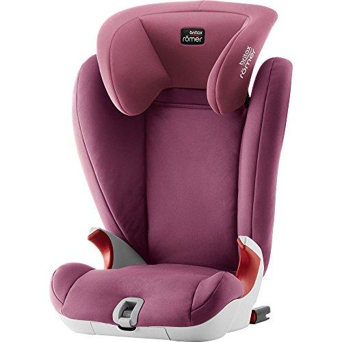 Britax Römer KIDFIX SL Kindersitz 15-36 kg, Autositz Gruppe 2/3, wine rose