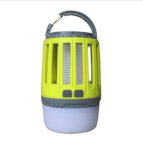 QTRT Bug Zapper Outdoor Solarbetriebene, wasserdichte Solar-Notbeleuchtung Home Elektrisches Mückenschutzmittel, Mückenlampe, Mückenschutz, LED-Licht Mückenpest Insektenvernichter Lampe Garten