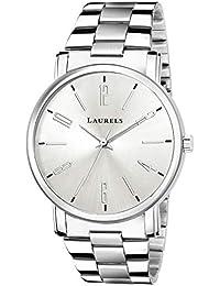 Laurels Lo-svt-0707 Analog Silver Dial Men's Watch-Lo-Svt-0707
