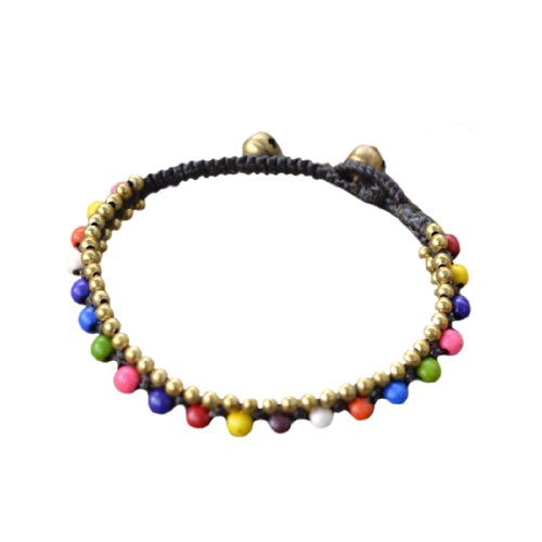 ploy-arco-iris-de-cuentas-pulsera-de-cordon-de-algodon-encerado-hippie-gitano-de-tamano-ajustable-he