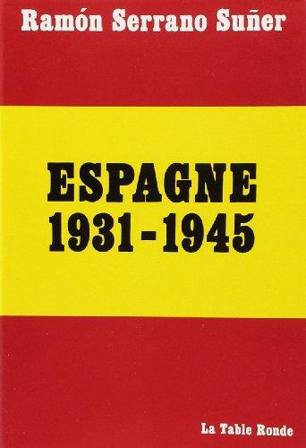 Espagne 1931-1945