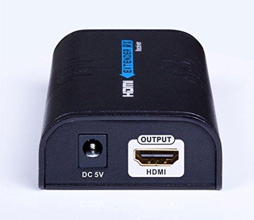 AGPtek 1080 P HDMI su Ethernet 100 m LAN RJ45 CAT5 CAT6 per schermi Full HD DVD PS3