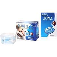 MY LITTLE BEAUTY 2 in 1 Anti-Schnarch Hilfsmittel - Nasendilator für sofortige Befreiung vom Schnarchen und komfortablen... preisvergleich bei billige-tabletten.eu