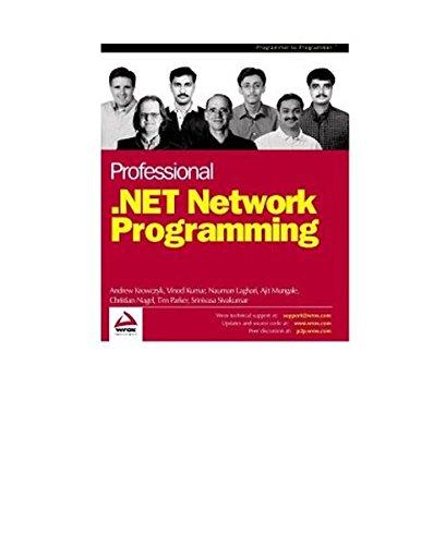 Professional Net Network Programming