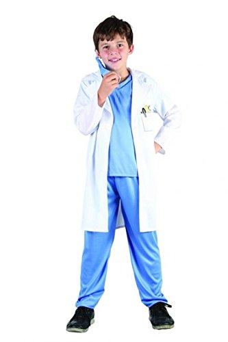Arztkostüm für Jungen 140/152 (10-12 (Kostüm Der Doktor 11)