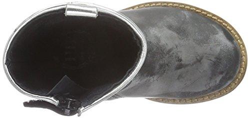 HIP H1323, Bottines à doublure froide fille Noir - Schwarz (10LP/90ME/90Gl)