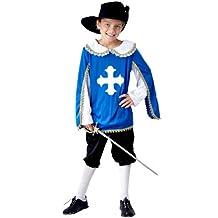 Henbrandt ltd nuovo per bambini colore blu moschettiere da ragazzo