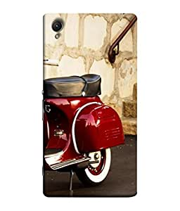 PrintVisa Life Is A Journey 3D Hard Polycarbonate Designer Back Case Cover for Sony Xperia C6 Ultra Dual