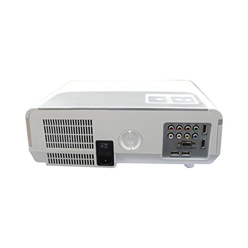 Play LED LCD 5500 Lumens/FULL HD 1920x1080 Resolution 3D Projector (White & Grey)