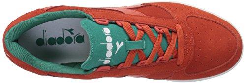 Diadora 501.170952 Sneakers Homme C6613 - FIESTA CERAMIQUE ROUGE-VERT