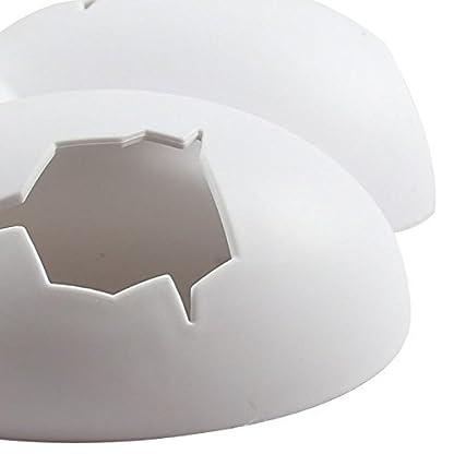 ThinkPet Plastic Reptile Shelter Hiding Cave Habitat Aquarium Ornament Broken Dinosaur Eggs 2