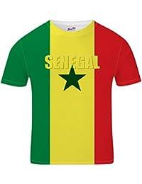 Bang Tidy Clothing Senegal Football Shirts for Men 2018 Senegalian Team Flag T Shirt Fans Gift