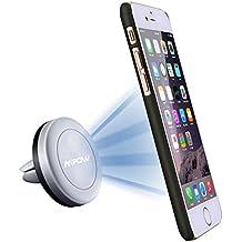 Soporte Magnético de Movíl para Rejillas del Aire de Coche, Mpow Grip Magic Car Mount Universal para iPhone 7/6 Plus/6s/6/SE y Android Smartphone GPS Navegador .