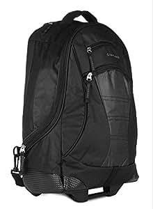 Giordano 15 inch Laptop Strolley Bag(Black)