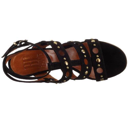 BPZONE FLORIDA Y2502, Damen Sandalen/Fashion-Sandalen schwarz (dunkel schwarz)