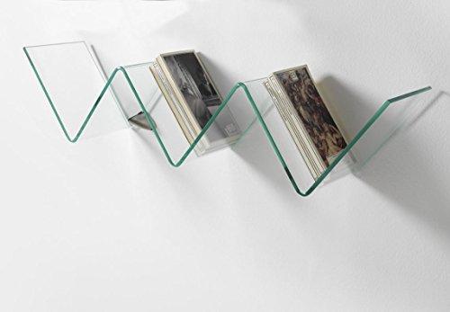 Wink design, moreno valley, mensola, vetro, trasparente