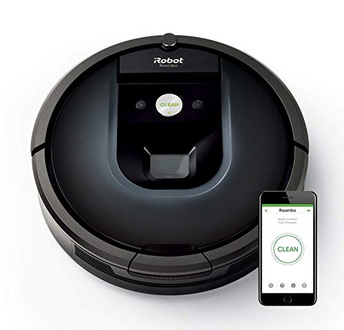 Foto iRobot Roomba 981 Robot aspirapolvere WiFi, Power-Lifting, 2 spazzole in...